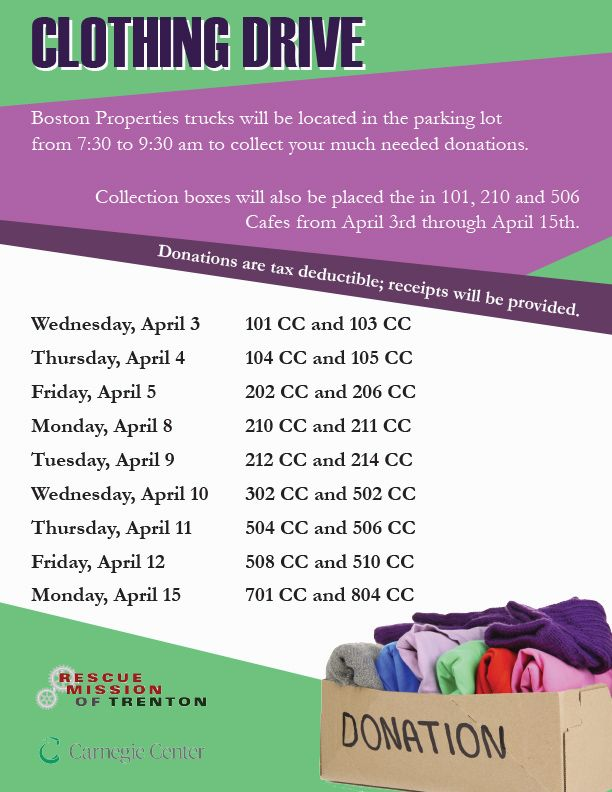 Clothing Drive 2019