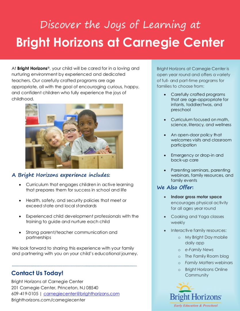 Bright Horizons factsheet