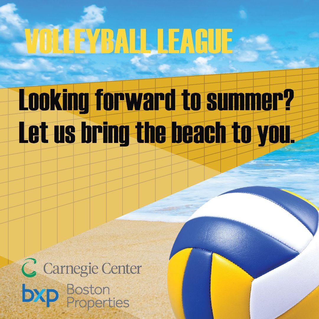 Beach Volleyball at Carnegie Center